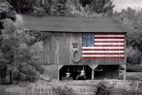 Patriotic Farm I Fine-Art Print