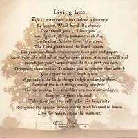 Living Life - Tree Silhouette Fine-Art Print