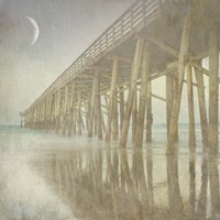 Twilight Pier I Fine-Art Print