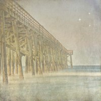 Twilight Pier II Fine-Art Print