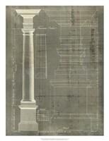 Column Blueprint III Fine-Art Print