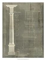 Column Blueprint IV Fine-Art Print