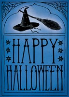 Vintage Halloween Happy Halloween Fine-Art Print