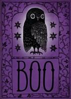 Vintage Halloween Boo Fine-Art Print