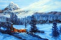Cozy Cabin Fine-Art Print