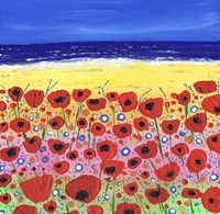 Poppies by the Beach Fine-Art Print