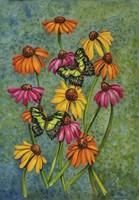 Monarchs & Sunflowers Fine-Art Print