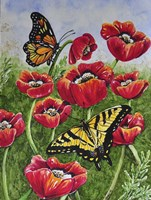 Monarch and Swallowtail Fine-Art Print