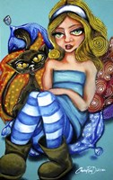 Alice In Ugg Boots Fine-Art Print