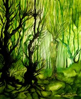 The Lady Of The Forest Fine-Art Print