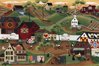 Amish Quilt Village Fine-Art Print