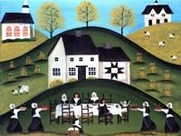 Pilgrim Thanksgiving Dinner Fine-Art Print