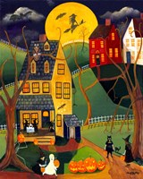 Halloween Trick or Treat Fine-Art Print