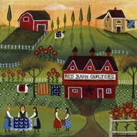 Red Barn Quilters Fine-Art Print
