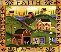 Faith Family Friends Forever Fine-Art Print
