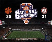 Clemson Tigers 2016 National Champions Fine-Art Print
