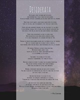 Desiderata Night Sky Fine-Art Print