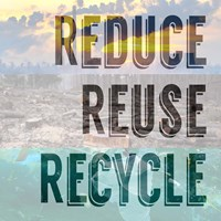 Reduce Reuse Recycle II Fine-Art Print