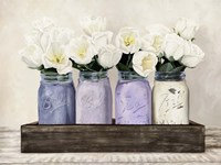 Tulips in Mason Jars Fine-Art Print