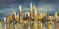 New York, riflessi del mattino Fine-Art Print