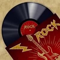 Vinyl Club, Rock Fine-Art Print