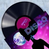 Vinyl Club, Disco Fine-Art Print