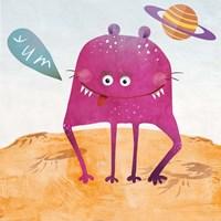 Alien Friend #2 Fine-Art Print