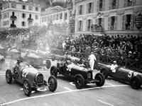 Le depart du Grand Prix de Monaco 1932 Fine-Art Print