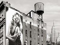 Billboards in Manhattan #1 Fine-Art Print