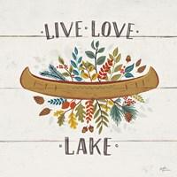 Peace and Lodge I Fine-Art Print