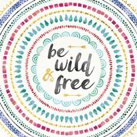 Wild and Free I Framed Print