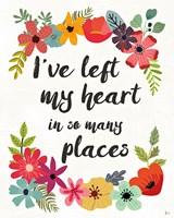 Words and Petals II Fine-Art Print