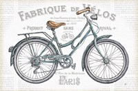 Bicycles I Fine-Art Print