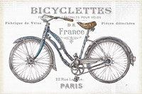 Bicycles II Fine-Art Print