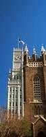 Clock tower, Lamar Life Building, St. Andrew's Church, Jackson, Mississippi Fine-Art Print