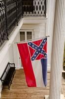 Mississippi Mississippi state flag Fine-Art Print