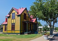 The Tennessee Williams Home in Columbus, Mississippi Fine-Art Print