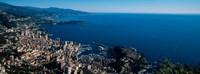City at the waterfront, Monte Carlo, Monaco Fine-Art Print