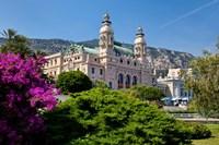 Gardens surround Monte Carlo Casino, Monaco Fine-Art Print