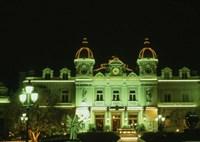 Monte Carlo Casino at Night, Monaco Fine-Art Print