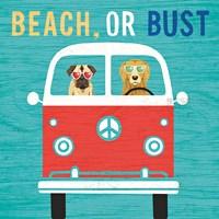 Beach Bums Bus Fine-Art Print