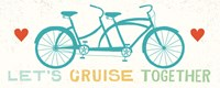 Lets Cruise Together II Fine-Art Print