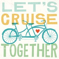 Lets Cruise Together I Fine-Art Print