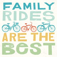 Lets Cruise Family Rides I Fine-Art Print