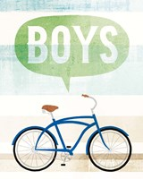 Beach Cruiser Boys II Fine-Art Print