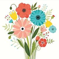 Seaside Bouquet II Fine-Art Print