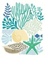 Under Sea Treasures V Sea Glass Fine-Art Print