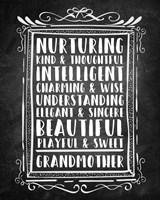Grandma - Chalkboard Fine-Art Print