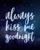 Stellar - Kiss Me Goodnight Fine-Art Print