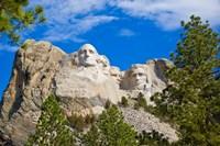South Dakota, Mount Rushmore National Memorial Fine-Art Print